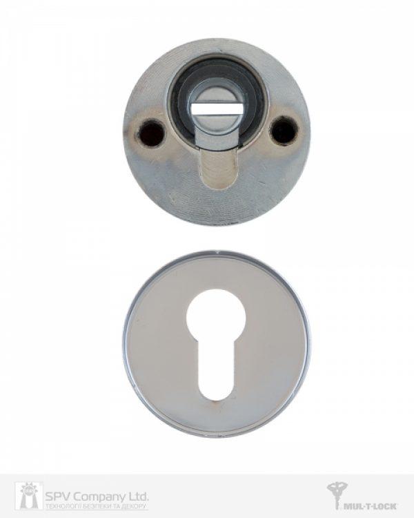 Фото 2 - Протектор MUL-T-LOCK SL3 DIN ROUND 14,5 мм 40-89мм Хром полірований 3клас NICKEL CHROME Комплект, М6х100.