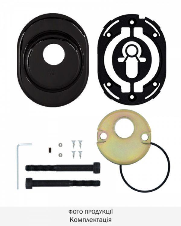 Фото 9 - Протектор DISEC CONTRO CD2000 DIN OVAL 21мм Фарба чорна 3клас N Внутренний, не регулируемый.