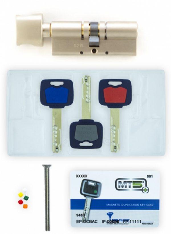 Фото 5 - Цилиндр MUL-T-LOCK DIN_KT XP *MT5+ 85 NST 35x50T TO_NST CAM30 3KEY DND5I_BLUE_INS 948B BOX_M.