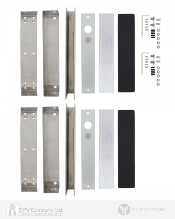 Фото 3 - Кронштейн YLI BBK-700 для цельностеклянных дверей.