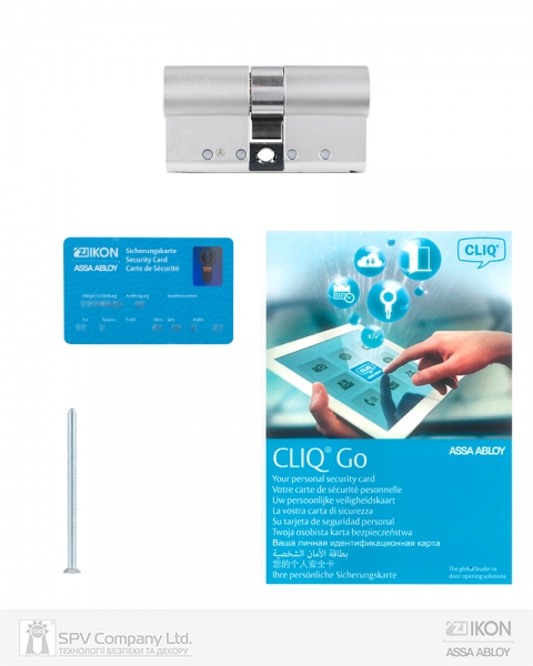 Фото 7 - Цилиндр IKON DIN_MOD_KK e-CLIQ 80 NST 40ix40 CAM30 CLIQ_GO M/S BOX.
