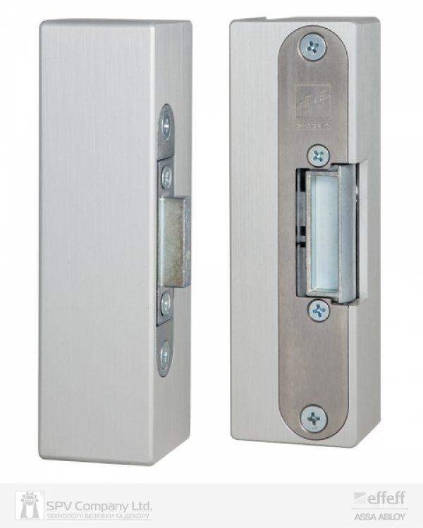 Фото 9 - Защелка электромеханическая EFF EFF 9314VGL 10 -E31 (12V DC Ee UNIV 10мм) НЗ для стеклянных дверей.