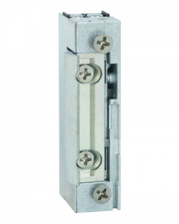 Фото 1 - Защелка электромеханическая EFF EFF 118 -A71 FaFix (W/O SP 10-24V AC/DC) НЗ универсальная с узким корпусом.