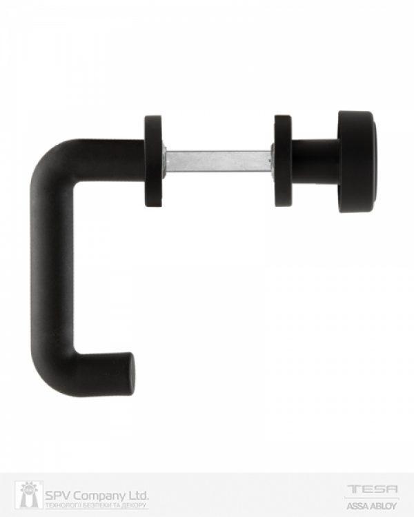 Фото 4 - Набор фурнитуры ISEO 032403 (72мм MUV-FIX CYL HOLE) N N: black (RAL 9005) 9мм.