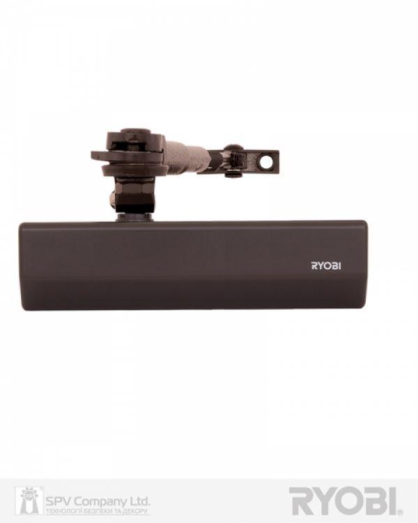 Фото 12 - Доводчик накладной RYOBI 2000 DS-2055V DARK BRONZE BC STD HO ARM EN 3/4/5 до 100кг 1250мм.