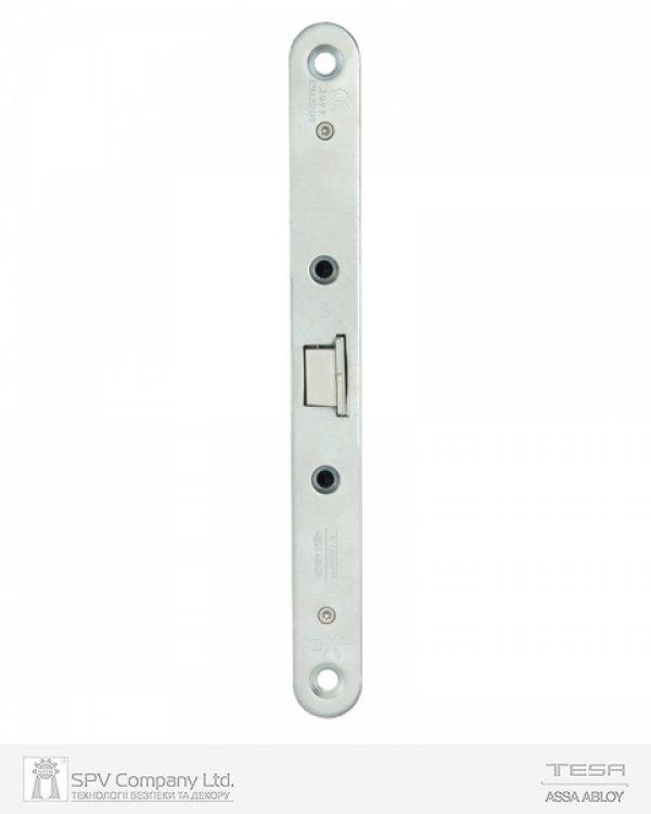 Фото 4 - Замок TESA врезной для активной створки CF69 (BS65 72мм Zinc) 9мм открывания снаружи только ключом, под установку снаружи фиксированной ручки.