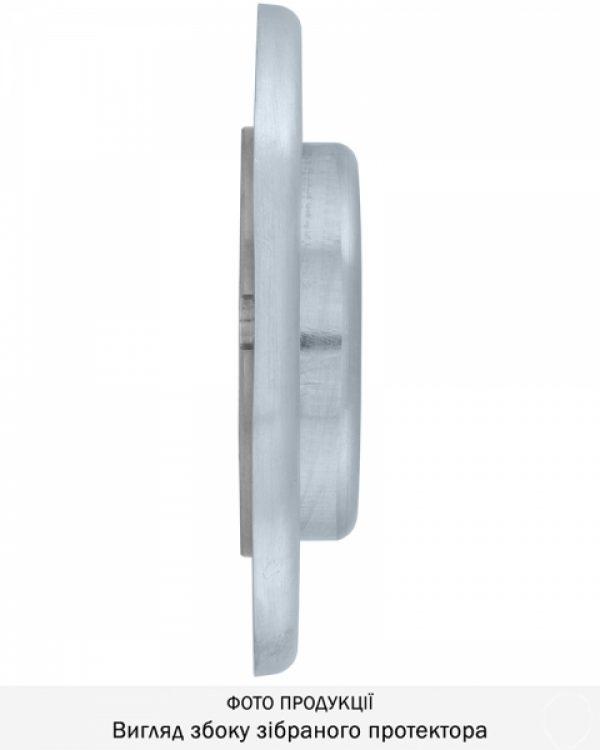 Фото 11 - Протектор DISEC MAGNETIC 3G 3GDM LEVER KEY OVAL 15мм Хром мат 3клас T 5KEY KM0P3G Внешний.