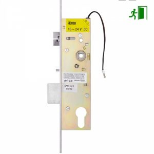 Фото 31 - Замок электромеханический ERBI SAM EL B 9235 ВЅ35мм 92мм FP22 SS UNIV DIN SOL 10-24V NC PANIC FUNCTION EI односторонний контроль.