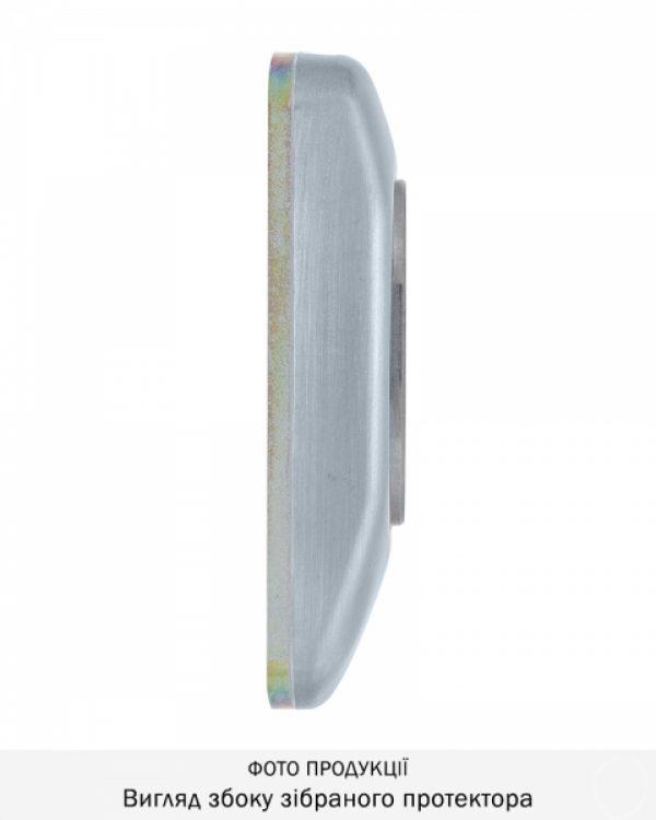 Фото 10 - Протектор DISEC GUARD SG16 DIN FOR WINDOW OVAL 25мм Хром мат 3клас T Комплект.