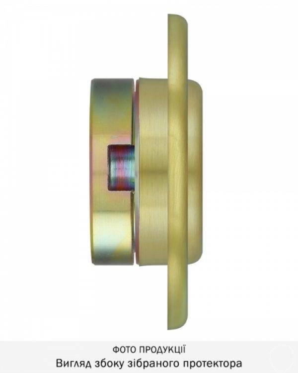 Фото 12 - Протектор DISEC CONTRO CD2100 DIN OVAL 30/40мм Латунь мат 3клас TT Внутренний, регулируемый.