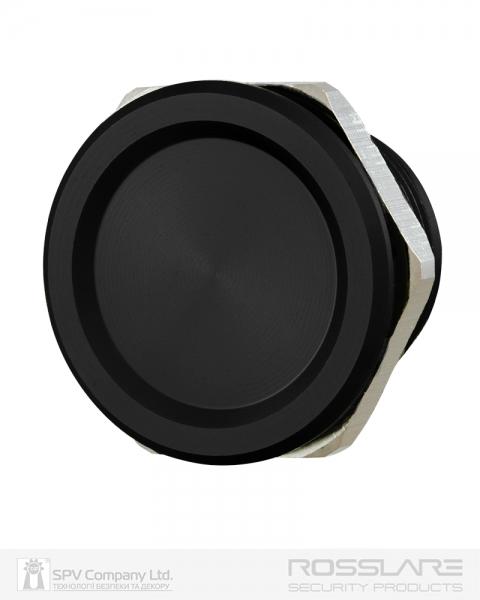 Фото 1 - Кнопка выхода ROSSLARE PX-13B наружная пьезо черная.
