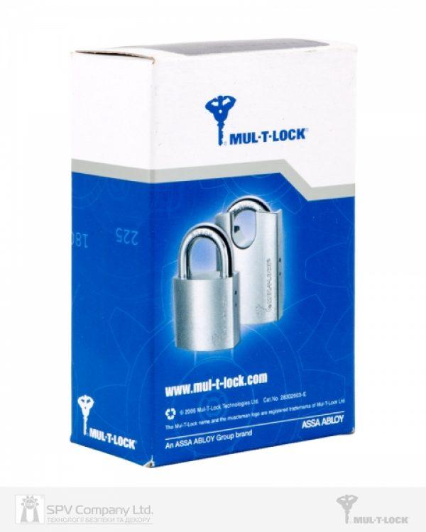 Фото 4 - Замок навесной MUL-T-LOCK G55P *ClassicPro 4867 2KEY DND BLUE INS NR shackle 10мм 23мм BOX M.