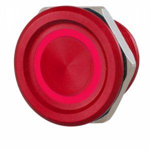Фото 14 - Кнопка выхода ROSSLARE PX-34R наружная пьезо красная.