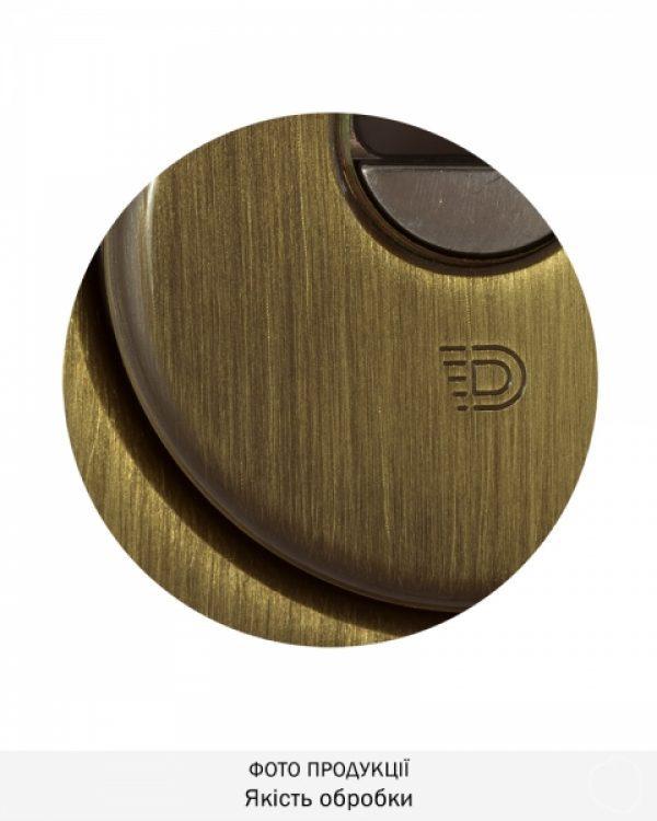 Фото 2 - Протектор DISEC SFERIK BD16/4 DIN OVAL 25мм Бронза сатин 3клас BS Внешний.