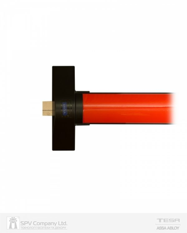 Фото 5 - Замок TESA для эвакуационного выхода накладной QUICK1S NR N: black (RAL 9005)/R: red (RAL 3000) 1 Locking 900мм 8мм.