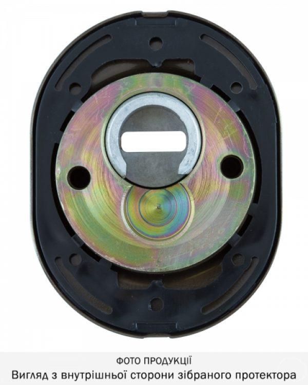 Фото 5 - Протектор DISEC SFERIK BDS16/4 DIN OVAL 25мм Бронза сатин 3клас BS Комплект.