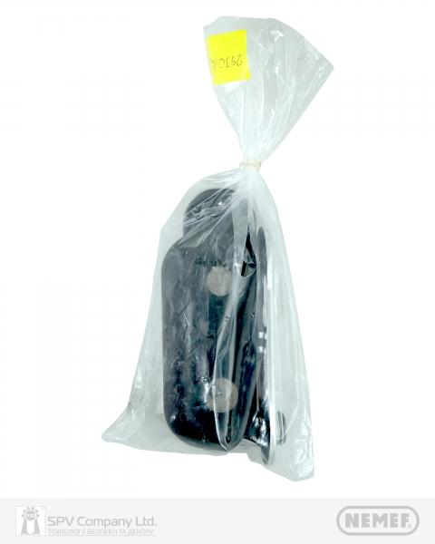 Фото 6 - Ручка NEMEF 2930/02 (72мм MUV CYL HOLE) N N: black (RAL 9005) 9мм.