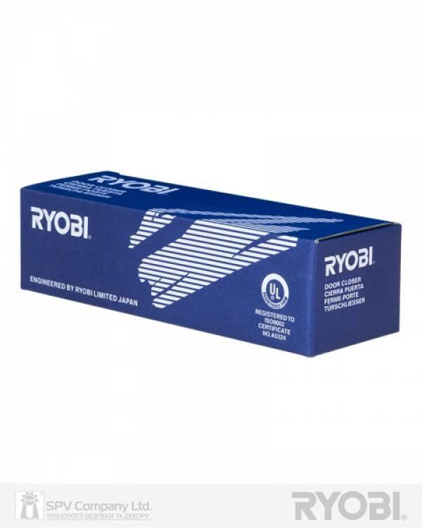 Фото 2 - Доводчик накладной RYOBI *9900 9903 GLOSSY WHITE STD ARM EN 2/3 до 65кг 965мм.