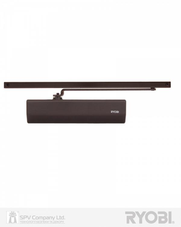 Фото 9 - Доводчик накладной RYOBI 2550 DS-2550T DARK BRONZE BC SLD HO ARM EN 1-3 до 65кг 1050мм.