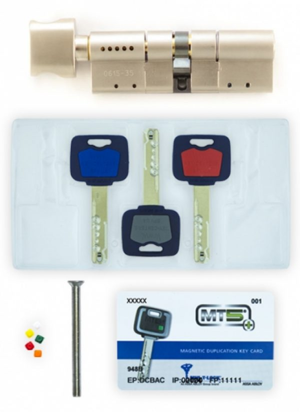 Фото 3 - Цилиндр MUL-T-LOCK DIN_MOD_KT *MT5+ 105 NST 45x60T TO_NST CAM30 3KEY DND5I_BLUE_INS 948B BOX_S.