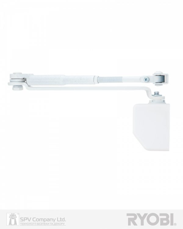 Фото 6 - Доводчик накладной RYOBI *1500 DS-1554 GLOSSY WHITE STD HO ARM EN 2/3/4 до 80кг 1100мм.