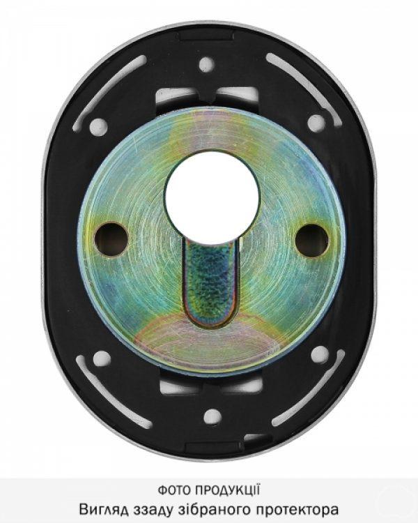 Фото 7 - Протектор DISEC CONTRO CD2000 DIN OVAL 21мм Нерж.сталь мат 3клас IT Внутренний, не регулируемый.