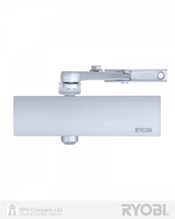 Фото 1 - Доводчик накладной RYOBI 1200 D-1200 SILVER BC STD ARM EN 2/3/4 80кг 1100мм.