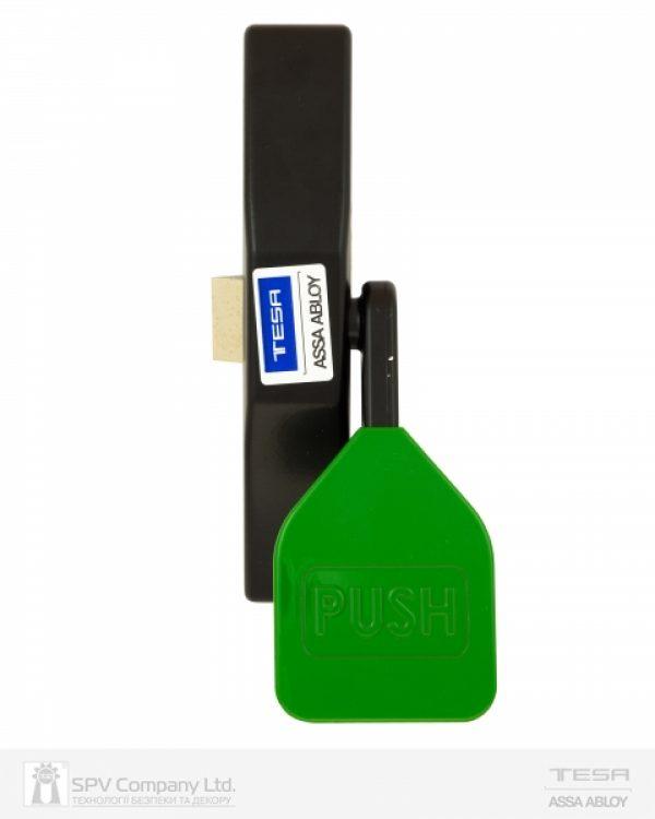 Фото 2 - Замок TESA для запасного выхода накладной TP91008 NV N: black (RAL 9005)/ V: green (RAL 6002) 1 Locking 8мм.