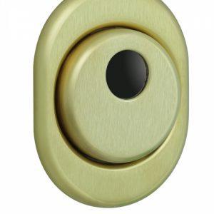 Фото 13 - Протектор DISEC CONTRO CD2000 DIN OVAL 21мм Латунь мат 3клас TT Внутренний, не регулируемый.