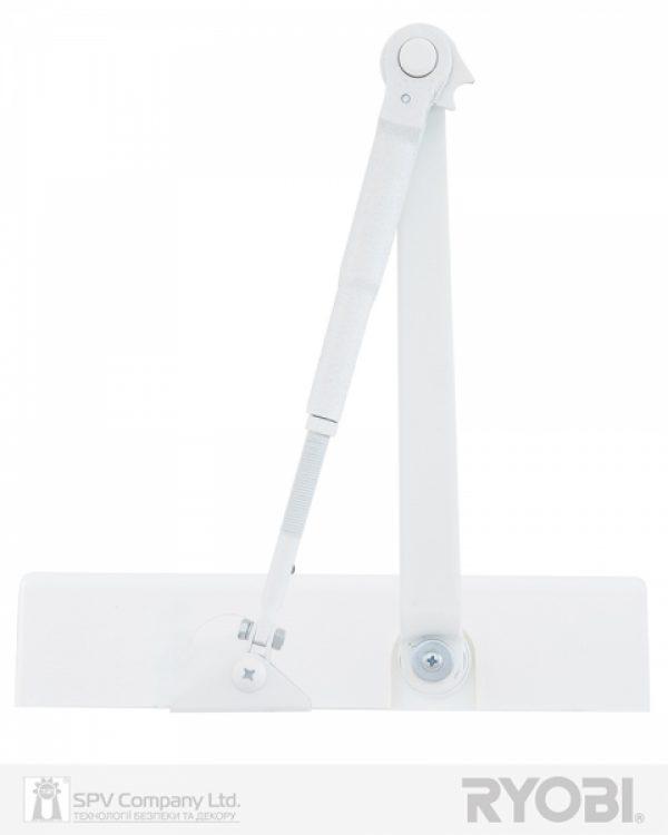Фото 7 - Доводчик накладной RYOBI 2000 DS-2055V GLOSSY WHITE BC STD HO ARM EN 3/4/5 до 100кг 1250мм.
