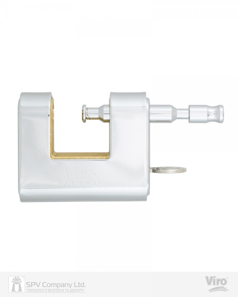 Фото 5 - Замок навесной VIRO PANZER 4117 3KEY 20мм 12мм BOX key profile patented.