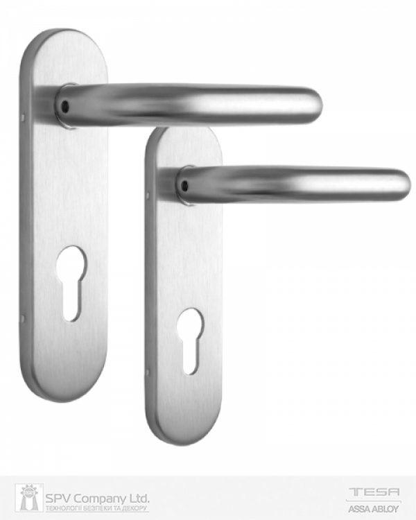 Фото 3 - Набор фурнитуры ISEO 032412 (72мм MUV-MUV CYL HOLE) I I: stainless steel 9мм.