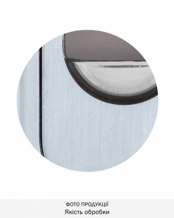 Фото 6 - Протектор DISEC GUARD SG16 DIN FOR WINDOW OVAL 25мм Хром мат 3клас T Комплект.