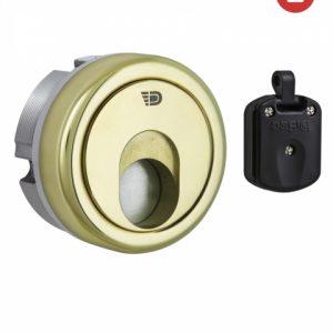 Фото 11 - Протектор DISEC MAGNETIC 3G 3G2 DIN 25мм Латунь PVD 3клас 2 3KEY KM0P3G Внешний, без щитка.