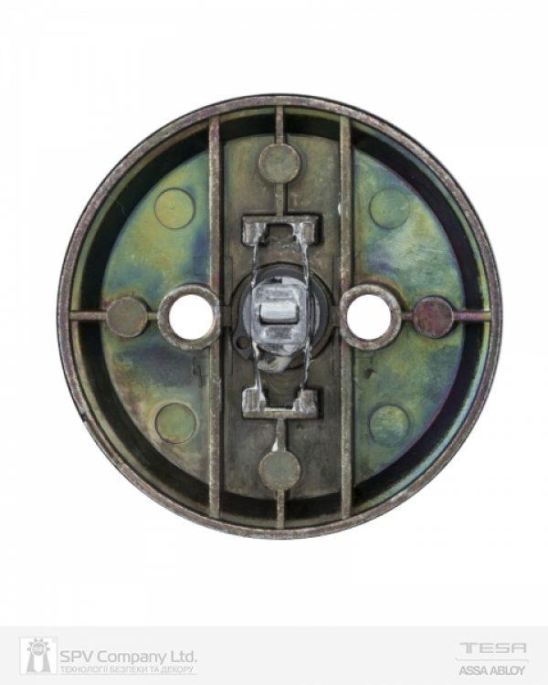 Фото 2 - Засов врезной TESA 1-WAY DEAD BOLT 514U0 LM MATT BRASS UNIV BS60/70мм SP для дверей толщиной 33-47мм.