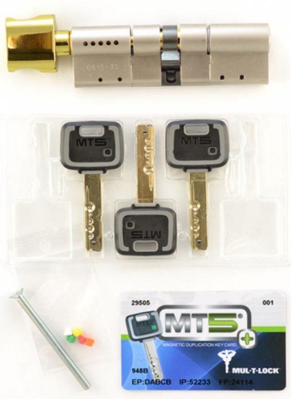 Фото 2 - Цилиндр MUL-T-LOCK DIN_MOD_KT *MT5+ 100 NST 55x45T TO_SB CAM30 3KEY DND5I_BLUE_INS 948B BOX_S.