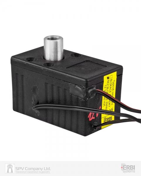 Фото 5 - Замок электромеханический ERBI INT 7 VO MI UNIV SOL 12VDC для шкафов датчики положения ригеля, без ридера и контроллера.