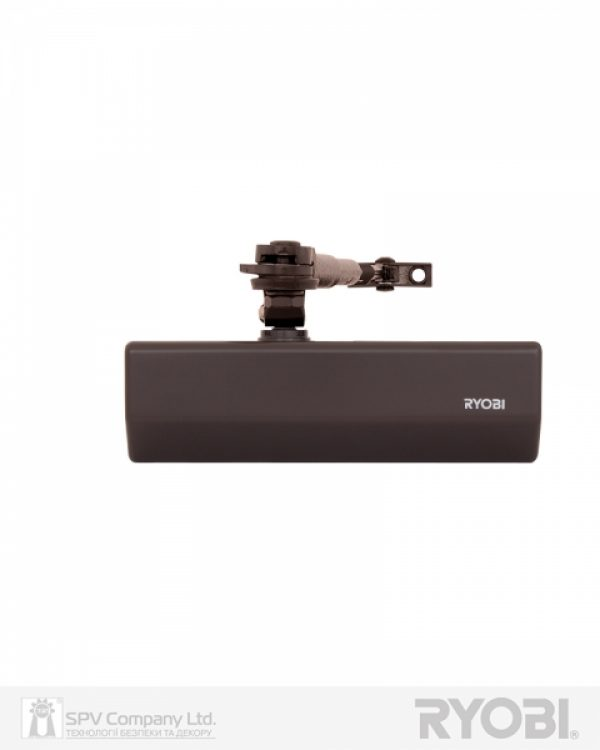 Фото 1 - Доводчик накладной RYOBI *1500 DS-1554 DARK BRONZE STD HO ARM EN 2/3/4 до 80кг 1100мм.