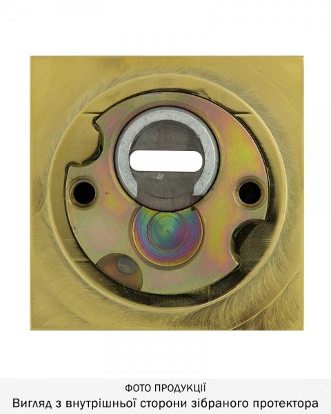Фото 4 - Протектор DISEC MONOLITO SFERIK BD200 DIN SQUARE 25мм Латунь PVD 3клас 2 Внешний.