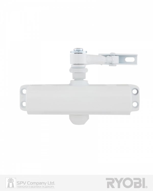 Фото 11 - Доводчик накладной RYOBI *9900 9903 GLOSSY WHITE STD ARM EN 2/3 до 65кг 965мм.