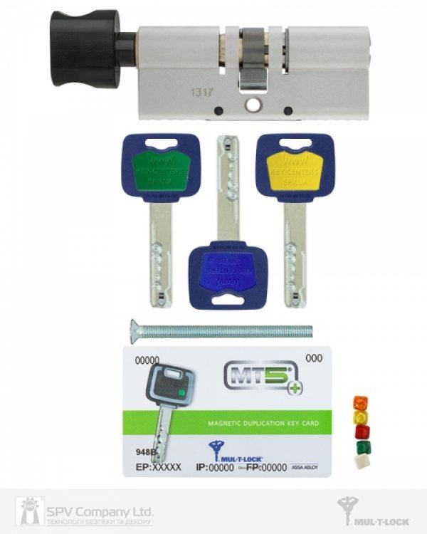 Фото 5 - Цилиндр MUL-T-LOCK DIN_KT XP *MT5+ 85 NST 35x50T TO_BE CAM30 3KEY DND5I_BLUE_INS 948B BOX_M.