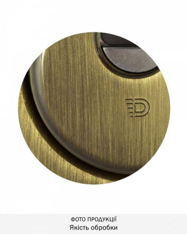 Фото 7 - Протектор DISEC SFERIK BDS16/4 DIN OVAL 25мм Бронза сатин 3клас BS Комплект.