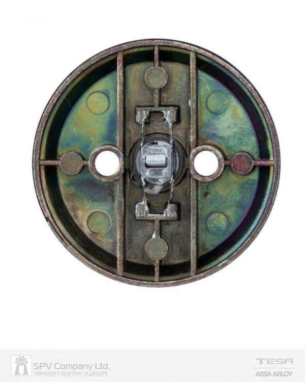 Фото 6 - Засов врезной TESA 1-WAY DEAD BOLT 514U0 CR CHROME UNIV BS60/70мм SP для дверей толщиной 33-47мм.