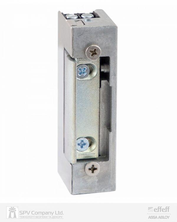 Фото 1 - Защелка электромеханическая EFF EFF SPE71 -A71 FaFix (W/O SP 10-24V AC/DC) НЗ универсальная стандартная с защитным диодом.