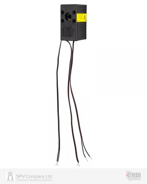 Фото 7 - Замок электромеханический ERBI INT 7 VO MI UNIV SOL 12VDC для шкафов датчики положения ригеля, без ридера и контроллера.