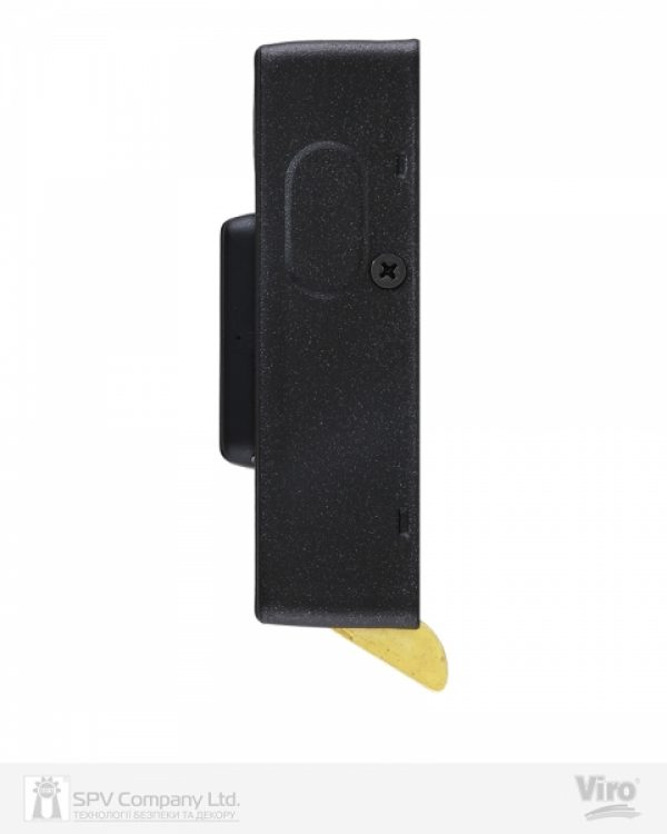 Фото 10 - Замок электромеханический VIRO V06 ВЅ70мм T1/T2 DIN 12VAC NC GATE накладной V96 BLACK открывание внутрь.