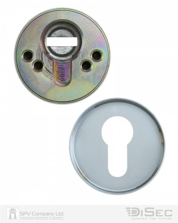 Фото 5 - Протектор DISEC BD54 DIN ROUND 13мм Хром мат 3клас T Комплект.