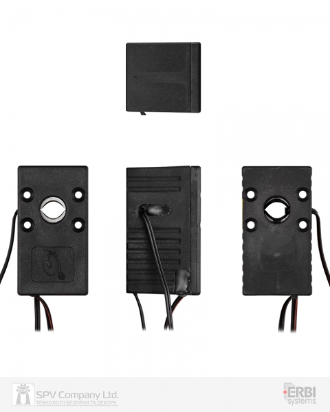 Фото 6 - Замок электромеханический ERBI INT 7 VO MI UNIV SOL 12VDC для шкафов датчики положения ригеля, без ридера и контроллера.
