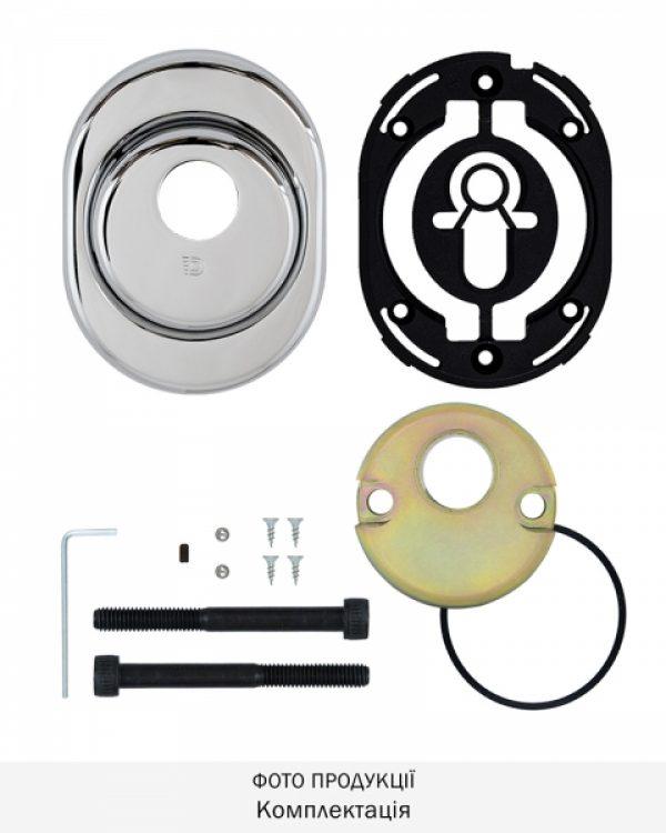 Фото 8 - Протектор DISEC CONTRO CD2000 DIN OVAL 21мм Хром полірований 3клас C Внутренний, не регулируемый.