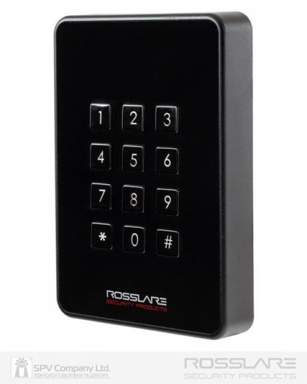 Фото 1 - Электронный считыватель ROSSLARE AY-H6355BT внешний код+карта MIFARE DESFIRE EV1 13.56Mhz and NFC BLE ID.